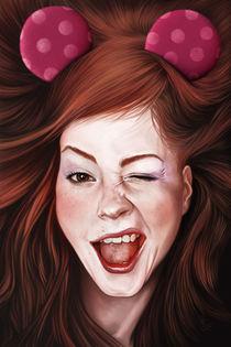 Wink Girl von Giordano Aita