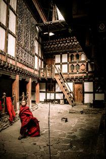 Bhutan Kloster von Helge Lehmann
