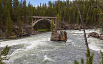 The Mighty Yellowstone River von John Bailey