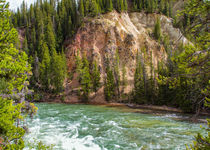 Beautiful River Journey Yellowstone von John Bailey