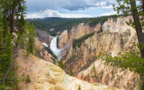 Lower Yellowstone Falls von John Bailey