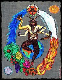 Baphomet - Shiva Pose von Jaffe Signore