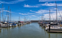 Marina On San Francisco Bay by John Bailey