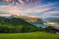 Blick ins Berchtesgadener Land by moqui