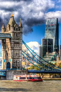 Tower Bridge and the City by David Pyatt