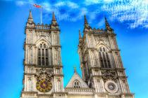 Westminster Abbey London by David Pyatt