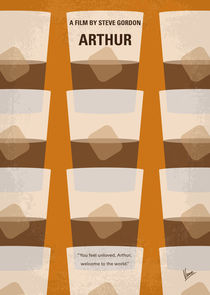 No383 My Arthur minimal movie poster by chungkong
