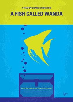 No389-my-a-fish-called-wanda-minimal-movie-poster