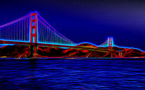Aura Of The Golden Gate Bridge von John Bailey