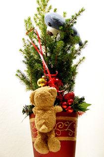 Weihnachtskugelnflaschenzug von Olga Sander