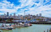 San Francisco Bay Skyline von John Bailey
