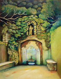 Heilige Quelle mit Madonna auf Mallorca von Marita Zacharias