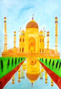 Taj Mahal through my eyes by nellyart
