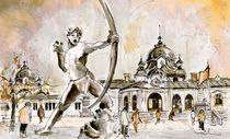 The Archer From Budapest von Miki de Goodaboom