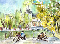 The City Park In Budapest 01 von Miki de Goodaboom