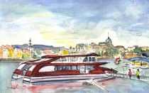 The Danube In Budapest 01 von Miki de Goodaboom