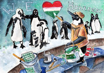 The Penguins From Budapest by Miki de Goodaboom