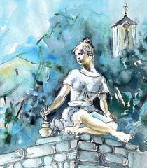 An Artist From Szentendre von Miki de Goodaboom