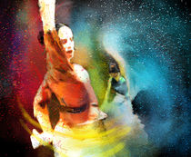 Flamencoscape 08 von Miki de Goodaboom