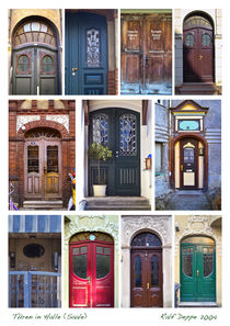 Türen in Halle von Ralf Deppe