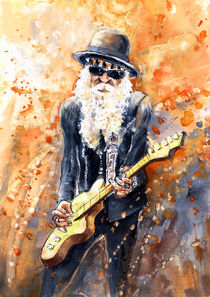 Billy Gibbons von Miki de Goodaboom
