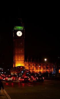 Nachts am Big Ben  von Bastian  Kienitz