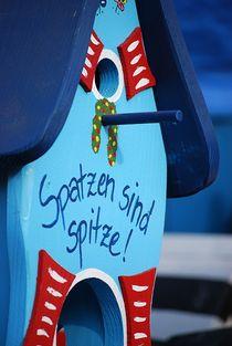 """""""Spatzen sind spitze!"""" von loewenherz-artwork"""
