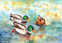Family Life On Lake Constance von Miki de Goodaboom
