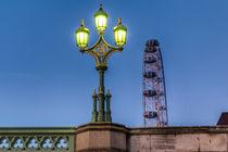 Westminster Bridge Lamp von David Pyatt