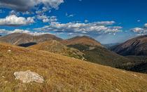 Beautiful Mountain Range by John Bailey