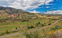 The Valley Below Dakota Ridge von John Bailey