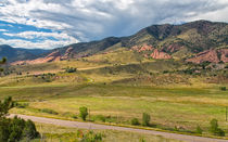 View From Dakota Ridge von John Bailey