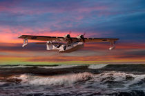 Catalina Flying Boat at Sunset (RAF Version) by Steve H Clark Photography
