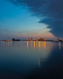 Across The Duluth Harbor by John Bailey