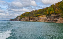 Changing Faces At Pictured Rocks National Seashore by John Bailey