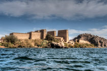 Temple by the Nile by David Tinsley