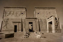 Philae Temple by David Tinsley