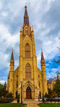 The Basilica Of The Sacred Heart von John Bailey