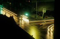 Intersection at night von Jim Corwin