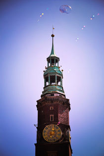 Wroclaw Clock Tower by olgasart