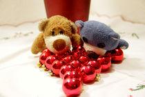 Leuchtende Teddyaugen by Olga Sander
