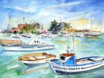Benicarlo Harbour by Miki de Goodaboom