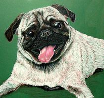 Pugs and Kisses by Susan Bergstrom