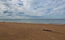 Beach at Lake Michigan von John Bailey