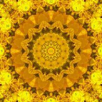 Always Summer Mandala Clockface von Richard H. Jones