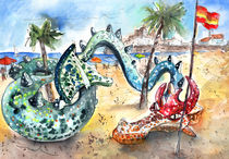 The Dragon From Peniscola by Miki de Goodaboom