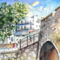 Peniscola Old Town 03 von Miki de Goodaboom