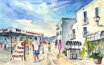 Peniscola Old Town 04 von Miki de Goodaboom