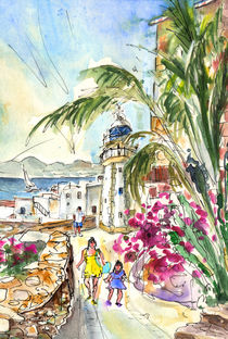 Peniscola Old Town 05 by Miki de Goodaboom