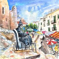 Papa Luna In Peniscola von Miki de Goodaboom